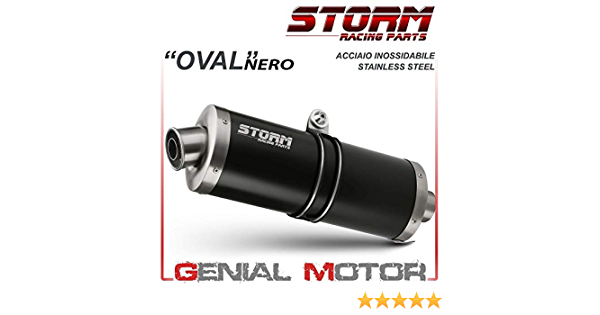 74 S 042 Lx2b Auspuff Storm By Mivv Oval Nero Stahl Fur Dl V Strom 1000 2015 15 Auto
