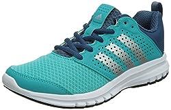 adidas , Damen Sneaker, Mehrfarbig - Azul/Plata/Blanco - Größe: 39 1/3