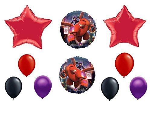 Disney Big Hero 6 Balloon Decoration Kit by Party Supplies - 6 Big Party Supplies Hero