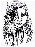 Posterlounge Forex-Platte 100 x 130 cm: Woman von Christin Lamade
