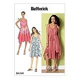 Butterick Patterns 6349ZZ Schnittmuster Kleid, Größen groß–2x Große