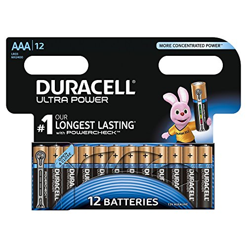 Duracell Ultra Power Type AAA Al...