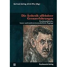 Die Ästhetik affektiver Grenzerfahrungen: Psychoanalytische, kunst- und medienwissenschaftliche Zugänge (Imago)