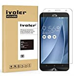 "Asus ZenFone 2 Laser ZE550KL Protection écran, iVoler® Film Protection d'écran en Verre Trempé Glass Screen Protector Vitre Tempered pour Asus ZenFone 2 Laser ZE550KL 5.5""- Dureté 9H, Ultra-mince 0.20 mm, 2.5D Bords Arrondis- Anti-rayure, Anti-traces de"