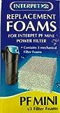 Interpet Replacement Plain Foams - PF Mini(3 Pieces)