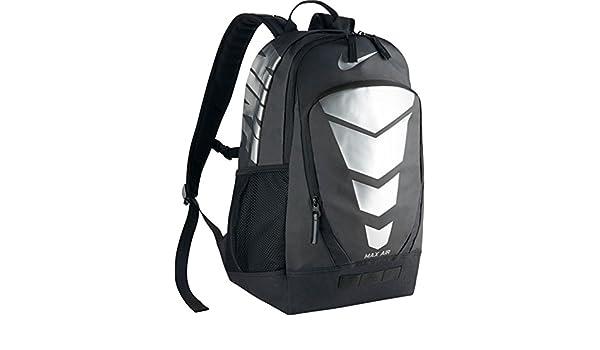 21713c12edd4 Nike Max Air Vapor Backpack Energy Black Black Metallic Silver Size 48 x 33  x 23 cm