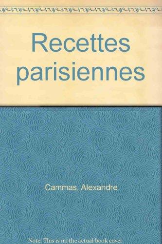 Recettes parisiennes