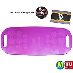 Mediashop Simply Fit Board | Fitnessgerät | Balance Board | Fitness | Twist-Board | verbessertes Gleichgewicht, Koordination, Stabilität | Das Original aus dem TV