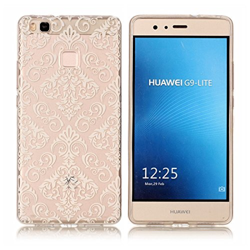 Yaking® Huawei P9 Lite Coque Silicone TPU Case Cover Gel Étui Housse pour Huawei P9 Lite 11-F