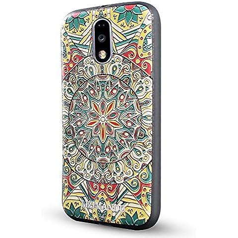 Motorola Moto G4(4ª Generación)Funda,Motorola Moto G4 Plus Funda,Lizimandu 3D Patrón Protectiva Carcasa de Silicona Gel TPU estrecha Case Cover Para Motorola Moto G4(4ª Generación)/G4 Plus(Mystic