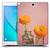 Official Olivia Joy StClaire Yellow Flowers On The Table 2 Soft Gel Case for Samsung Galaxy Tab A 9.7