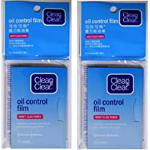 Clean& Clear Oil Control Film 60 Sheets x 2 pcs.