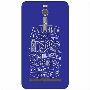 Asus ZenFone 2 ZE551ML Back Cover - Journey Of Life Designer Cases