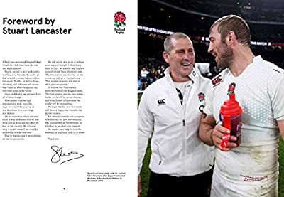 The Official England Rugby Book: Rugby World Cup 2015 Edition by Carlton Books Ltd