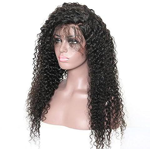 OOARGE Amerikanische afrikanische Perücken Synthetische kurze lockige Afro lockiges Haar für schwarze Frauen (lang) , black
