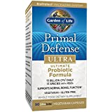 Garden of Life | Primal Defense Ultra | Ultimate Probiotic Formula | 90 Veg. Kapseln | 15 Milliarden lebende Zellen