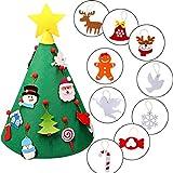 Happy Event Kleinkind 3D DIY Filz Weihnachtsbaum | New Year Kids Geschenke Spielzeug | Kids Tree Spielzeit