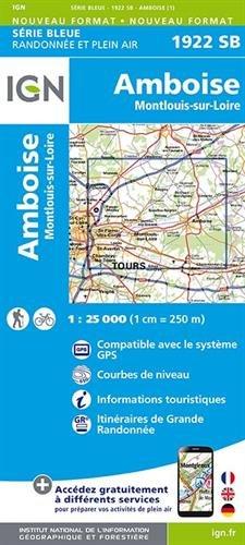 1922SB AMBOISE/MONTLOUIS-SUR-LOIRE par IGN
