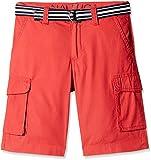Nautica Kids Boys' Shorts (N865102Q695_Ruby_17 - 18 years)
