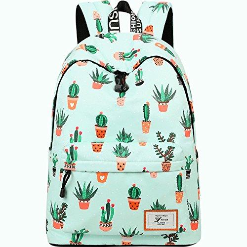 Imagen de joymoze moderna  de ocio para niñas  escolar para adolescentes  bolso estampado para mujer cactus 851 alternativa