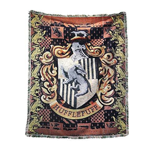 Harry Potter Wand Flagge, Harry Potter Tapisserie Wandbehang Tapisserie, Hufflepuff Fahne, Geburtstagsgeschenk - ()