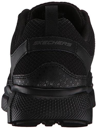 Skechers Equalizer 2.0on Track, Baskets Basses homme Noir - Noir