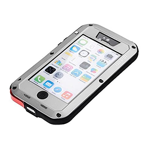 iPhone 5C Case - LOVE MEI Coque de protection Etui