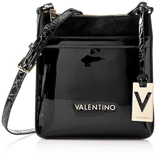 Valentino by Mario Valentino Damen Luxor Baguettes, Schwarz (Nero), 18x21x2 cm