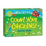 Count Your Chickens est un jeu coopératif pour les enfants de plus de 3 ans. C'est un jeu où tout le monde joue ensemble, personne n'est exclu, et tout le monde s'amuse! Count Your Chickens est un jeu de comptage où les bébés poussins ont volé la cag...