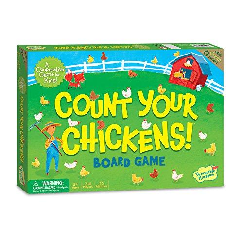 Peaceable Kingdom - Juego Cuenta tus pollos