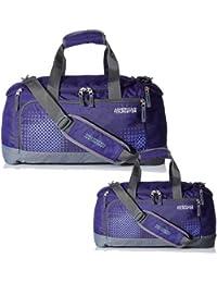 American Tourister XCITE Purple Bag Duffle Combo Set Of 2 Sizes