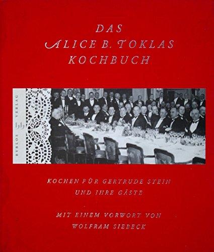 Alice B Toklas Cook Book