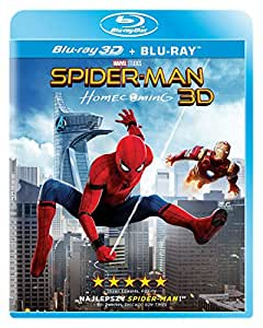 Spider-Man: Homecoming [Blu-Ray]+[Blu-Ray 3D] [Region B] (English audio. English subtitles)