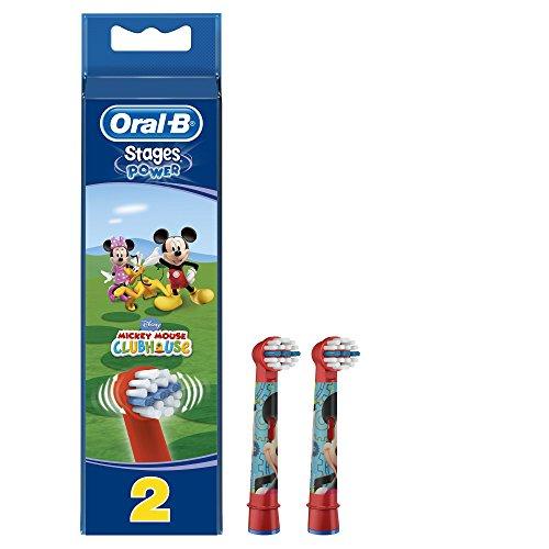 Oral-B Stages Power Kids Aufsteckbürsten, 2 Stück (sortiert)