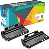 Do it Wiser ® 2 Cartouches de Toner compatibles pour Ricoh Aficio SP100 SP100E SP100SU SP100SF SP112 SP112SU SP112SF - 407166