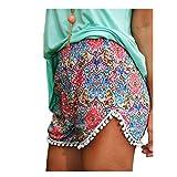 Kolylong Women Lady Sexy Hot Pants Summer Shorts High Waist Beach Short (XL)