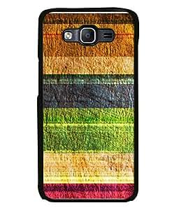 FUSON Designer Back Case Cover for Samsung Galaxy On7 G600Fy :: Samsung Galaxy Wide G600S :: Samsung Galaxy On 7 (2015) (Seamless Pattern Blue Design Drawing )