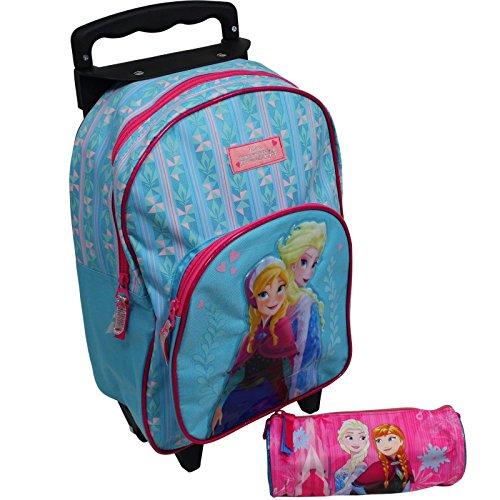 Spielwaren Klee Eiskönigin ELSA Trolley Koffer Kinderkoffer Rucksack Disney Frozen 2 TLG Set