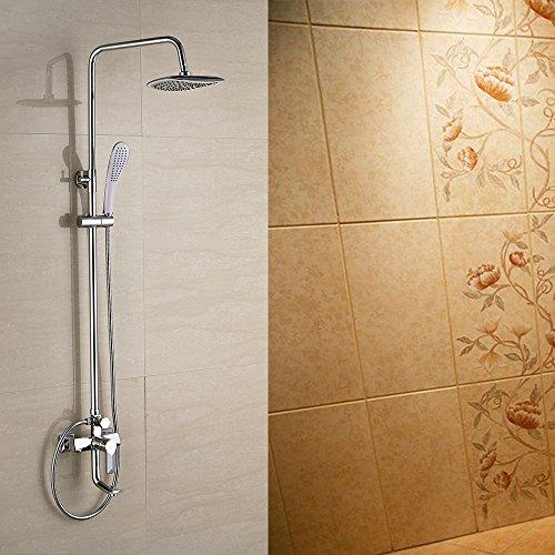 BL Doccia rubinetto rame freddo acqua Heater Doccia Valvola Miscelatrice nascosto doccia rubinetto doccia (Heater Hose Valve)
