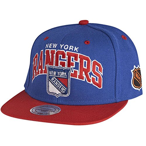Mitchell & Ness NHL New York Rangers Team Arch Snapback Cap ND12Z Kappe Basecap