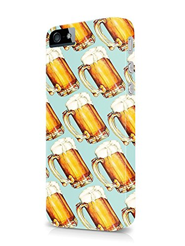 A pint bottle glass of beer lagger cold blanche blonde dark 3D cover case design for iPhone 6, 6s 3