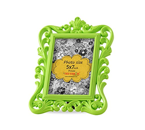 Tiedribbons Table mounted Photo Frame (9.5 inch X 6.9 inch, Blue)