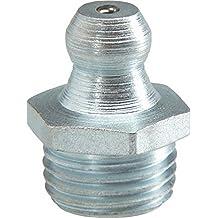 Kegelschmiernippel Hydraulik Fettnippel Abschmiernippe Schmiernippel M8 abgewinkelt 90/° HEAVYTOOL/® 50 St/ück