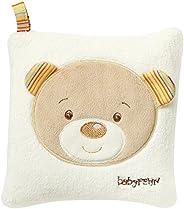 Fehn 160932 Kärnkudde Teddy – välgörande värme- och kylkudde med söt teddyapplikation för spädbarn och småbarn