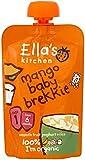 Ella's Kitchen Organic Baby Brekkie Mango 100 g (Pack of 6)