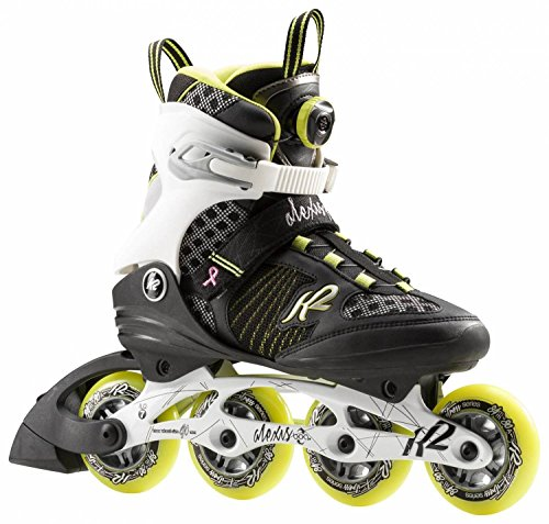 K2 Inline-Skates ALEXIS 84 SPEED BOA W 1 Black-White-Lime 10
