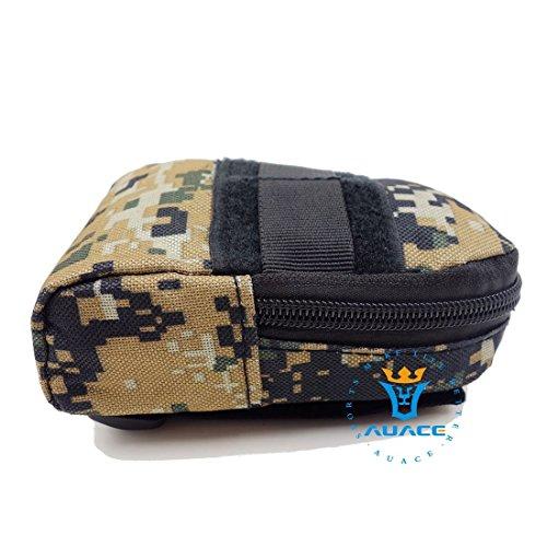 Multifunktions Survival Gear Tactical Beutel MOLLE Tasche Military Handytasche, Outdoor Camping Tragbare Travel Bags Handtaschen Werkzeug Taschen Taille Tasche DC