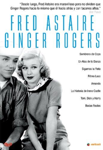 Pack: Fred Astaire Y Ginger Rogers (Incluye 8 Películas) (Import Dvd) (2012) A (Peliculas En Dvd)