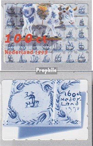 Prophila Collection Niederlande 1642-1643 (kompl.Ausg.) 1998 Delfter Fayencen (Briefmarken für Sammler)