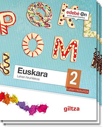 Euskara 2 - 9788483783085 por Edebé
